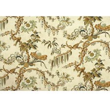 Cream Animal Decorator Fabric by Lee Jofa