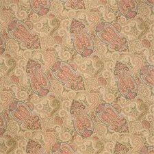 Maize Paisley Decorator Fabric by Laura Ashley