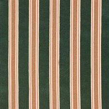 Laduree Velvet-Vert Stripes Decorator Fabric by Lee Jofa