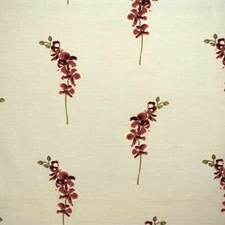 Red Print Decorator Fabric by Parkertex