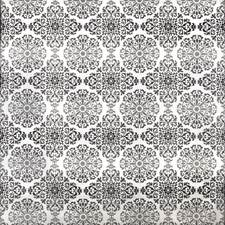 Black and White Decorator Fabric by Silver State