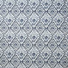 Navy Ethnic Decorator Fabric by Pindler
