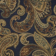 Midnight Decorator Fabric by RM Coco