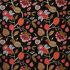 Noir Traditional Decorator Fabric by Pindler