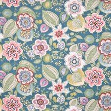 Bermuda Blue Decorator Fabric by Kasmir