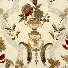 Aqua Print Decorator Fabric by G P & J Baker