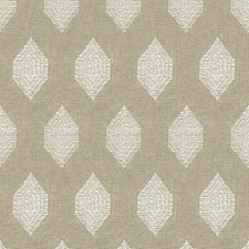 Taupe Geometric Decorator Fabric by Baker Lifestyle