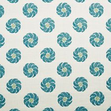 Turquoise Decorator Fabric by Silver State