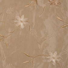 Natural Embroid Decorator Fabric by RM Coco