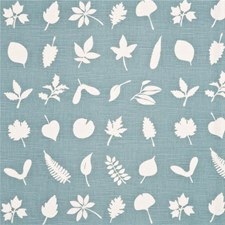 Aqua Botanical Decorator Fabric by Baker Lifestyle