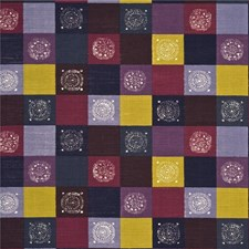 Mauve/Damson Decorator Fabric by Baker Lifestyle