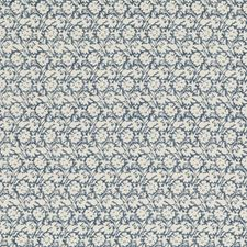 Indigo Print Decorator Fabric by Baker Lifestyle