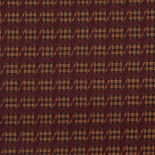 Burgundy/Red Traditional Decorator Fabric by JF