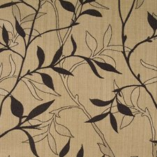 Black/Yellow/Gold Traditional Decorator Fabric by JF