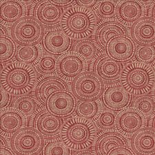 Vintage Red Decorator Fabric by Kasmir