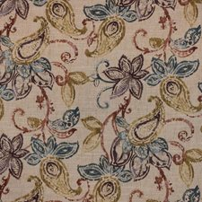 Tuscan Red Decorator Fabric by RM Coco