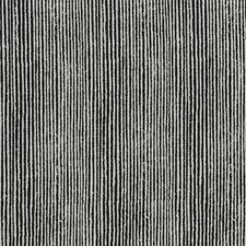 Charcoal Stripes Decorator Fabric by Groundworks