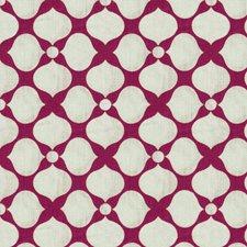 Raspberry Contemporary Decorator Fabric by Kravet