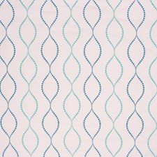 Aqua Decorator Fabric by RM Coco
