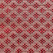 Red/Beige Decorator Fabric by Scalamandre