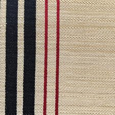 Beige/Black/Red Decorator Fabric by Scalamandre