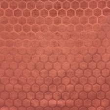 Orange/Rust Traditional Decorator Fabric by JF