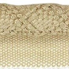 Cord With Lip Linen Trim by Kravet
