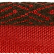 Cord With Lip Red Pepper Trim by Kravet