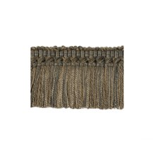 Moss Charcoal Trim by Brunschwig & Fils