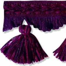 Tassel Fringe Burgundy/Red/Purple Trim by Kravet