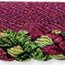 Cord With Lip Green/Burgundy/Red Trim by Kravet