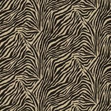 Black Animal Skin Decorator Fabric by Kasmir