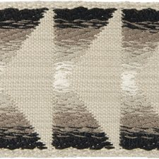 Braids Beige/Black/Grey Trim by Groundworks