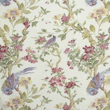 Powder Botanical Decorator Fabric by Lee Jofa