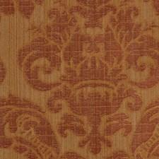 Yellow Gold Lattice Scrollwork Decorator Fabric by RM Coco