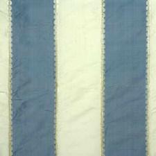 Blue/Cream Stripes Decorator Fabric by G P & J Baker