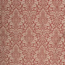 Carmine Red Decorator Fabric by RM Coco