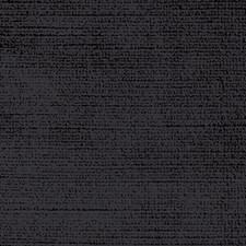 Jet Black Decorator Fabric by Scalamandre