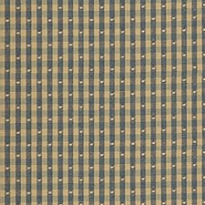Blue Check Decorator Fabric by Pindler
