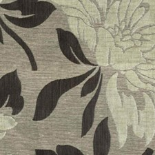 Silver Black Decorator Fabric by RM Coco