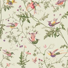Green Multi-Colour Wallcovering by Cole & Son Wallpaper