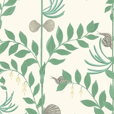 Dark Green Wallcovering by Cole & Son Wallpaper