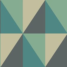 Teal Print Wallcovering by Cole & Son Wallpaper