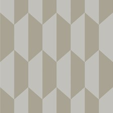 Grey and Silver Print Wallcovering by Cole & Son Wallpaper