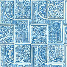 Blue/White Print Wallcovering by Cole & Son Wallpaper