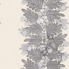 Grey/White Print Wallcovering by Cole & Son Wallpaper