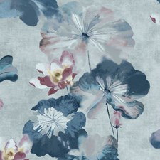 Blue Dusk Wallcovering by Maxwell