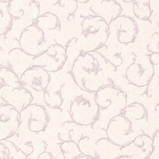 Lavender Scroll Wallcovering by Brewster
