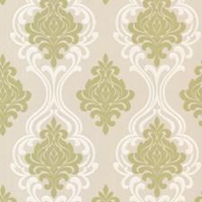 Light Green Modern Wallpaper Wallcovering by Brewster