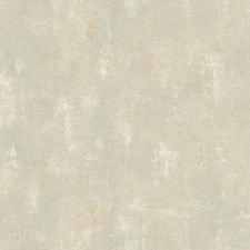 Pale Gold/Taupe/Soft Aquamarine Crackle Wallcovering by York